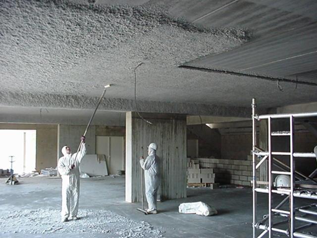Floque Plafond Coupe-feu