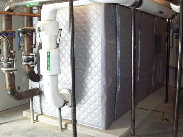Réduction Bruit D'un Refroidisseur Industriel