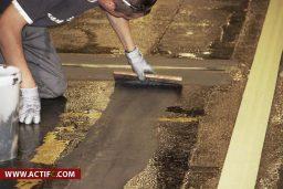 Préparation Du Sol, Remplissage Des Fissures.