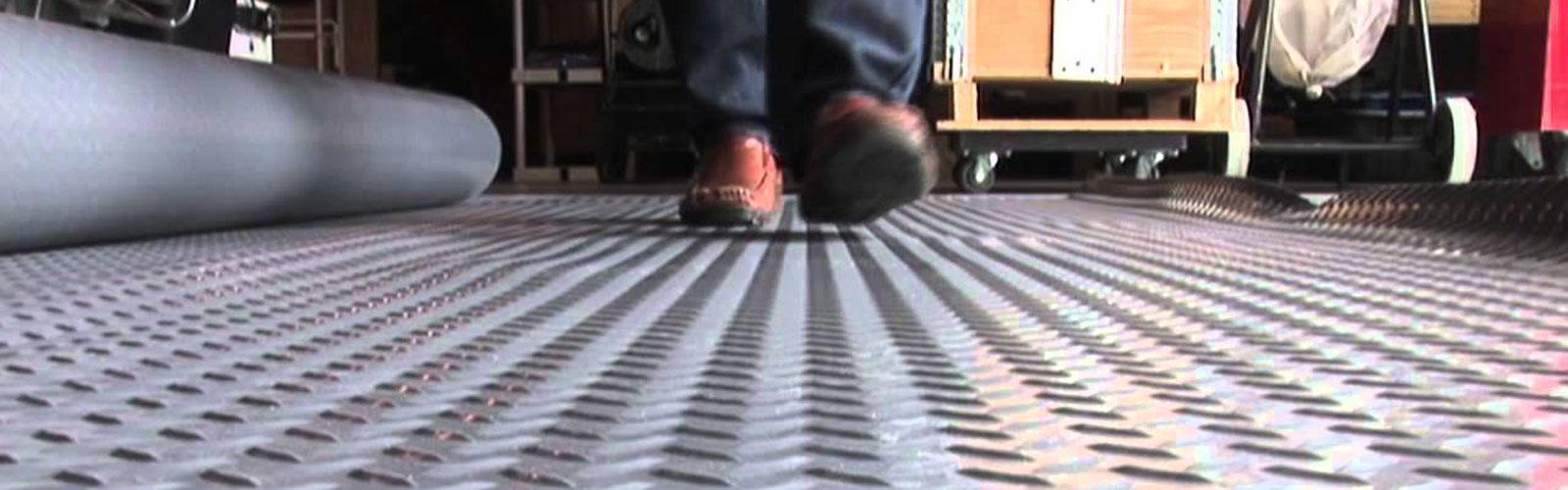 Rouleau PVC pour sol