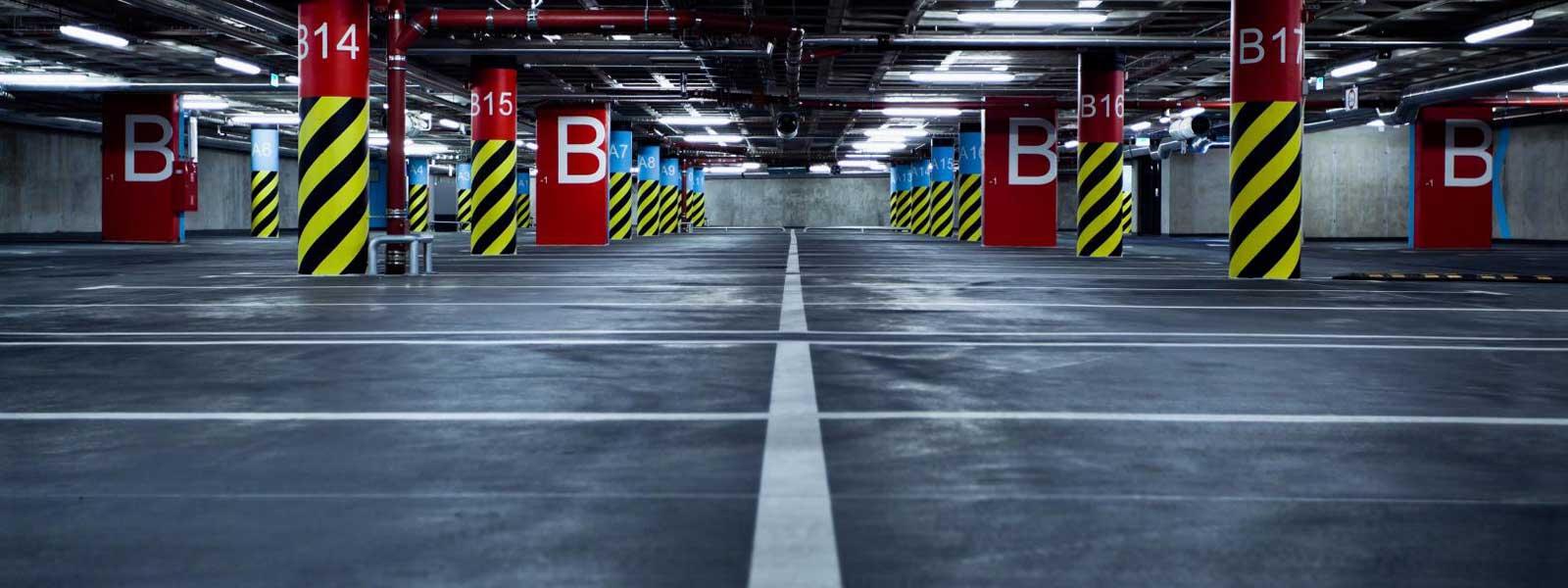 Marquage sol parking et stationnement