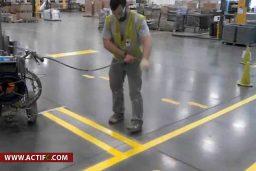 Marquage Au Sol Industriel, Entrepôt, Signalisation Industrielle