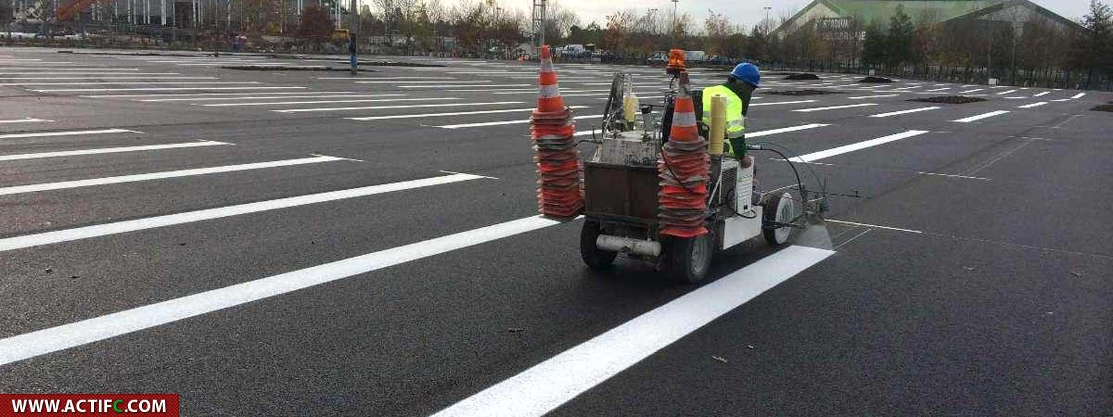 Traçage routier et signalisation horizontale
