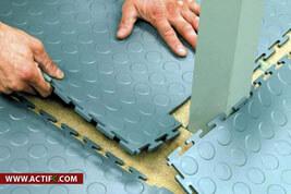 Dalles Sol En PVC Clipsable